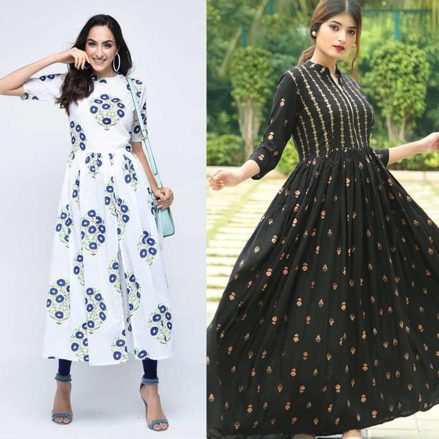 Pack Of 2 Stunning Kurtis