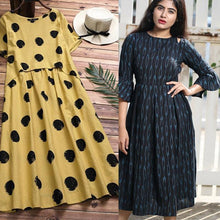 Load image into Gallery viewer, Combo Of 2 Party & Causal Wear Kurtis