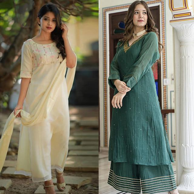 Pack Of 2 Graceful Cotton Suits