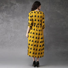 Load image into Gallery viewer, Heavy Rayon Yellow Color Partywear Kurti