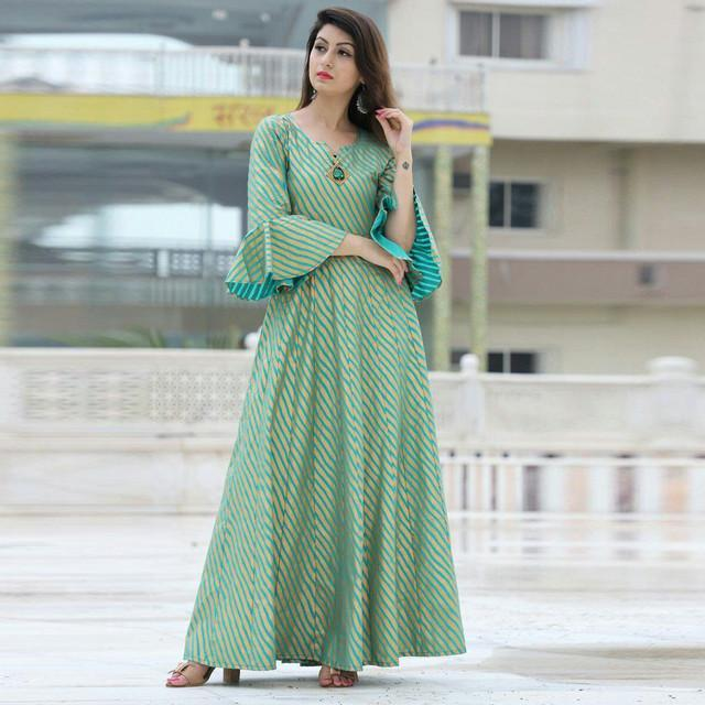 Festive Wear Long Kurti