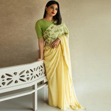 Load image into Gallery viewer, Yellow Color Saree