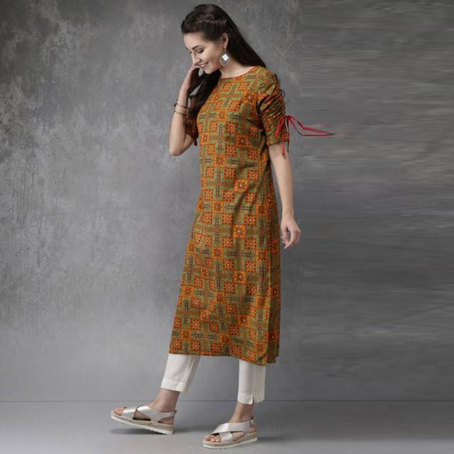 Multi Color Festive Wear Kurti