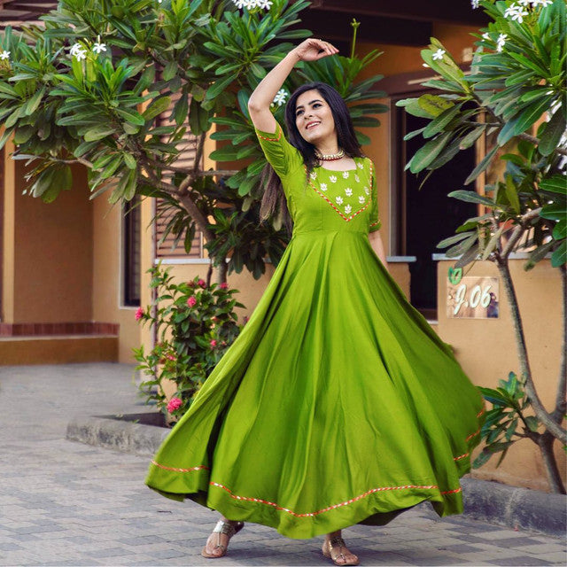Green Color Designer Suit
