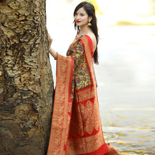 Load image into Gallery viewer, Designer Multi Color Party Wear Saree