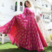 Load image into Gallery viewer, Beautiful Rani Pink Color Printed Suit