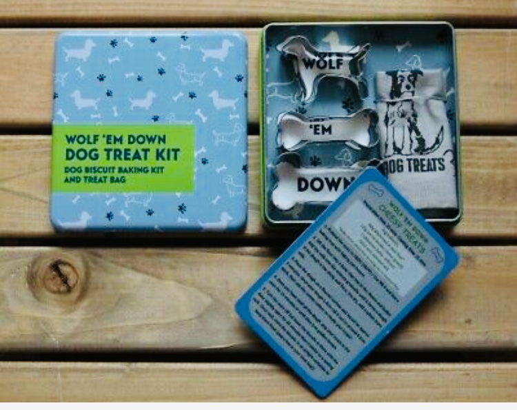 Wolf 'Em Down - Dog Treat Making Kit