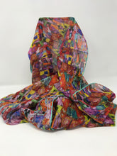 Load image into Gallery viewer, Klimt Eugenia Silk Chiffon Scarf