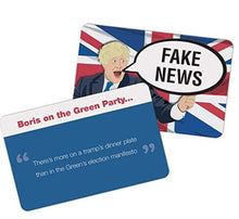 Load image into Gallery viewer, Fake News Game – Boris Johnson