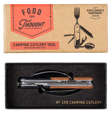 Load image into Gallery viewer, Camping Cutlery Tool