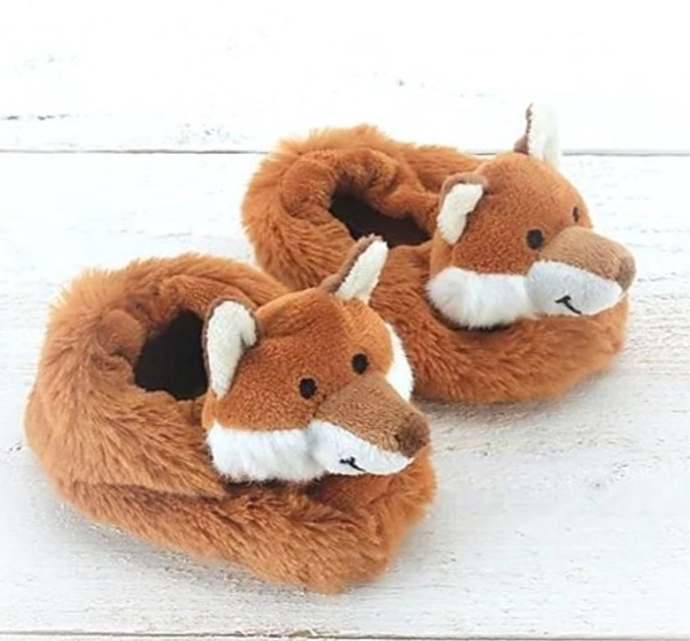 Assorted Animal Baby Slippers