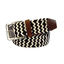 Load image into Gallery viewer, Tyler & Tyler Zig-Zag Patterned Belts