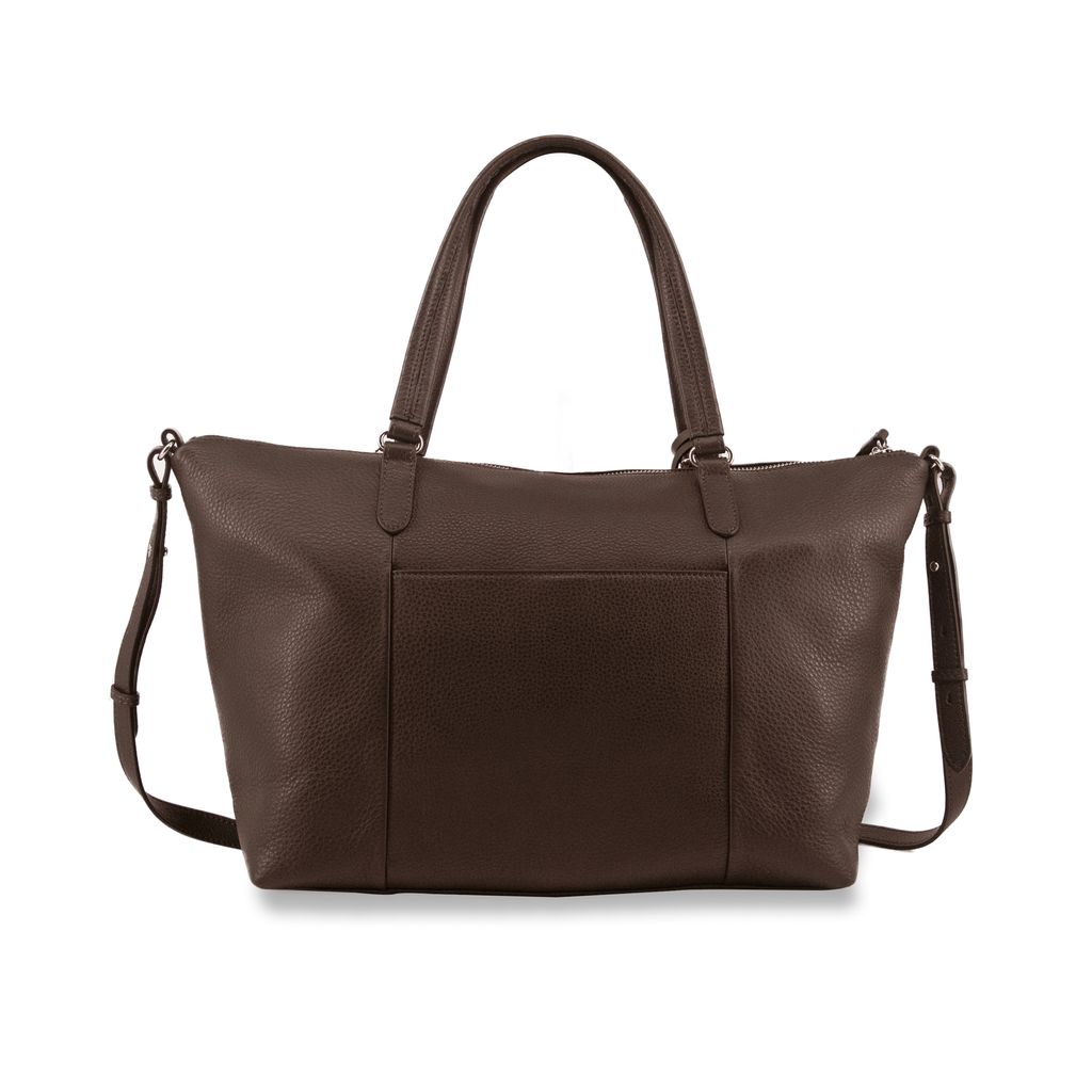 Large Natalie Leather Tote Bag - Samuel Ashley