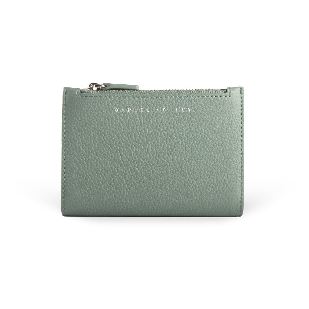 Mavis Leather Bi-fold Wallet - Samuel Ashley
