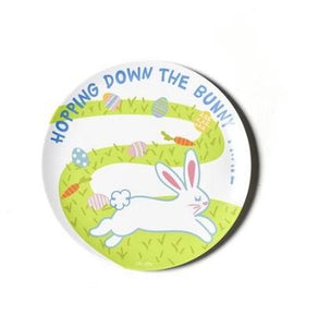 Bunny Trail Melamine Dinner Plate