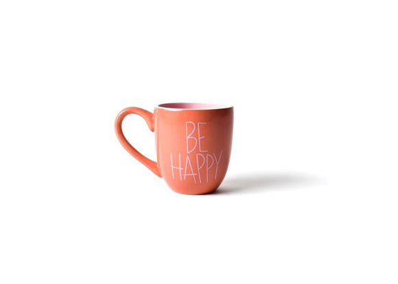 Persimmon Be Happy Mug