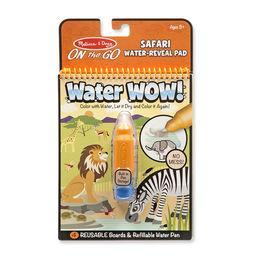 Water WOW! - Safari Water Reveal Pad- ON the GO Travel Activity
