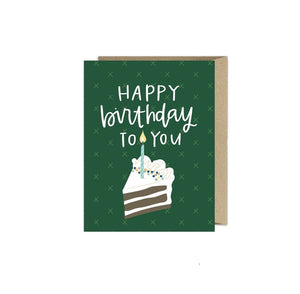 Greeting Card | Birthday Cake