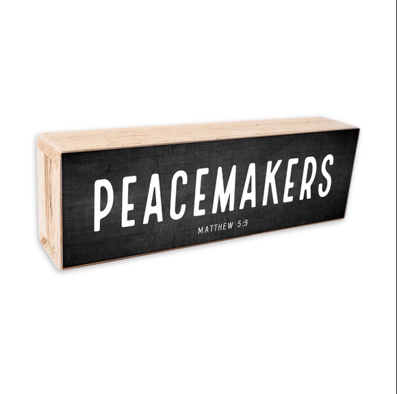 Peacemakers sign