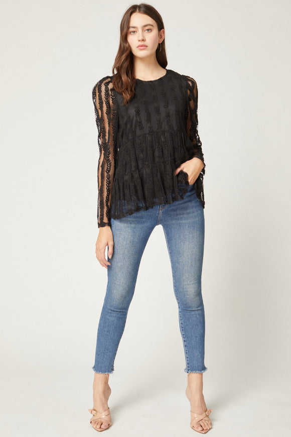 Lace In Love Top