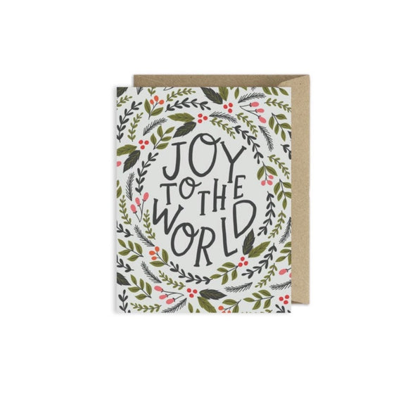 Greeting Card | Joy To The World