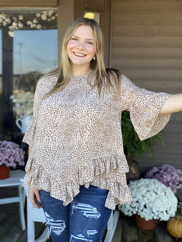 Remarkable Ruffles Top