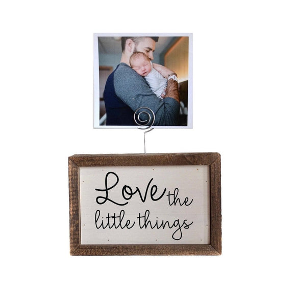 Little Things Frame Sign