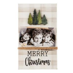 Merry Christmas Trees Frame