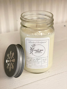 16 oz Mason Jar Candle
