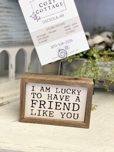 A Friend Like You Picture Frame