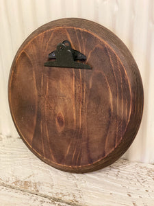 Barrel Top Photo Frame