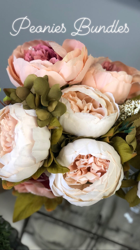 Peonies Bundle