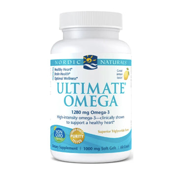 Nordic Naturals | Ultimate Omega 120 caps (lemon) | Mungbean Health Supplement Store