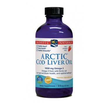 Nordic Naturals | Arctic Cod Liver Oil Liquid- 237ml (strawberry) | Mungbean Health Supplement Store