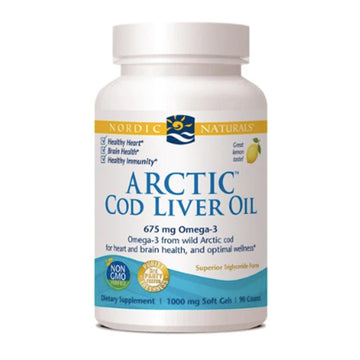 Nordic naturals | Arctic Cod Liver Oil soft gels - 90 (lemon) | Mungbean Health Supplement Store