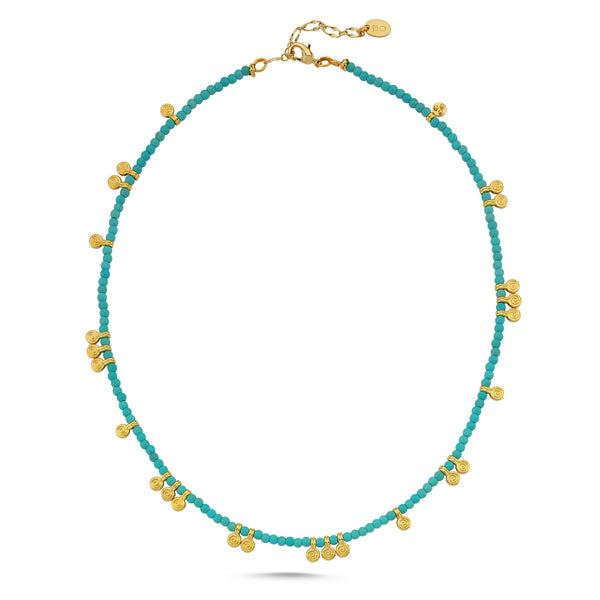 Greco Turquoise Necklace