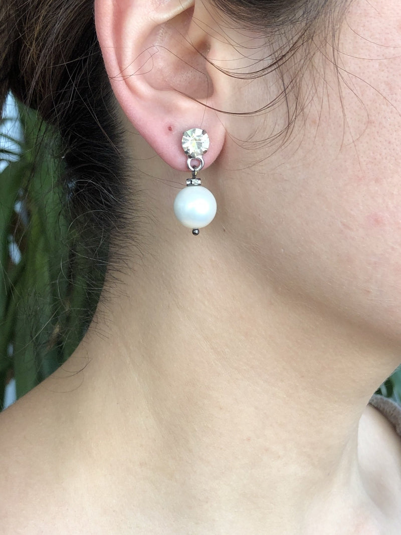 Mallorca Pearl Earrings