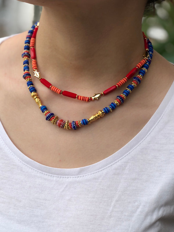 Africa Blue Necklace