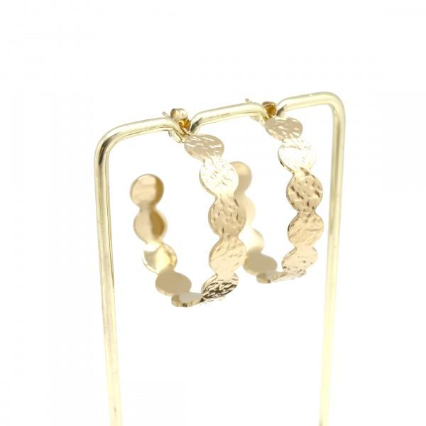Grace Hoop Earrings