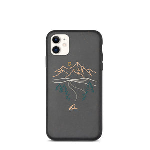 """Roadtrip"" Biodegradable Iphone case"