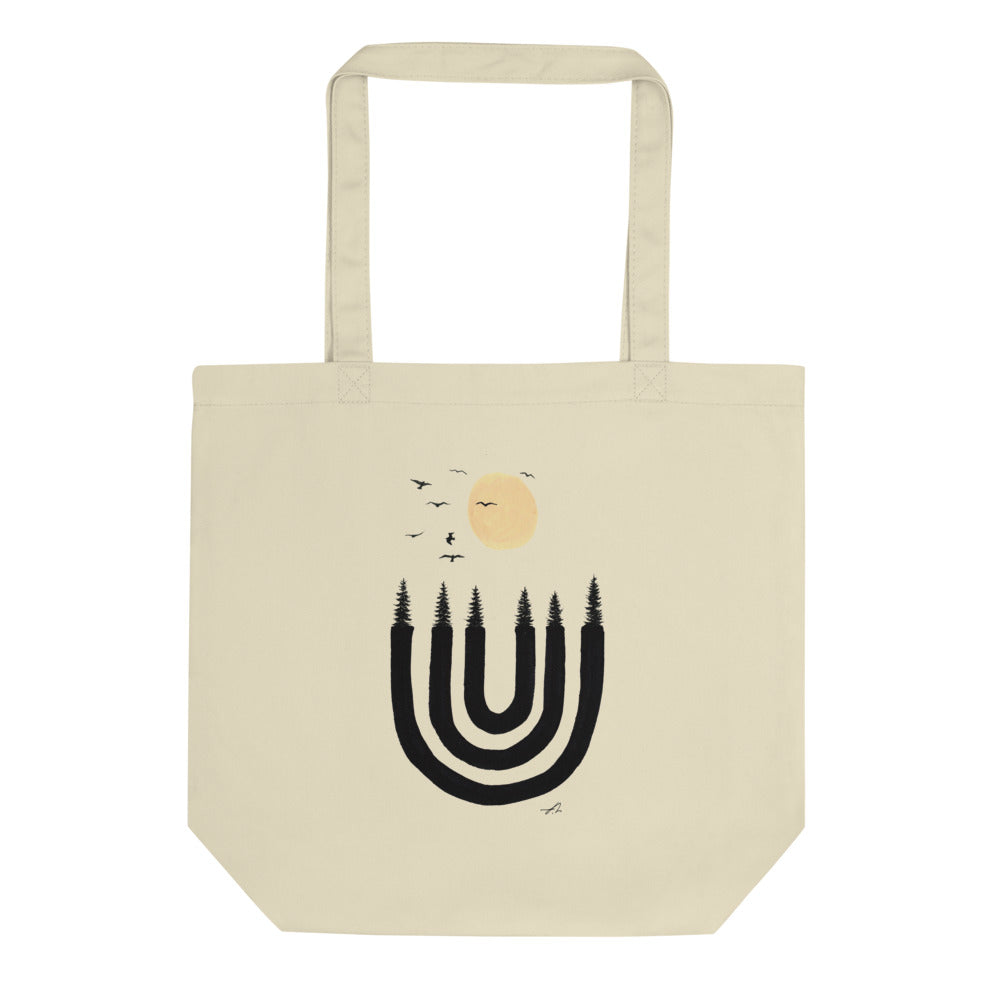 """Candle holder"" Eco Tote Bag"