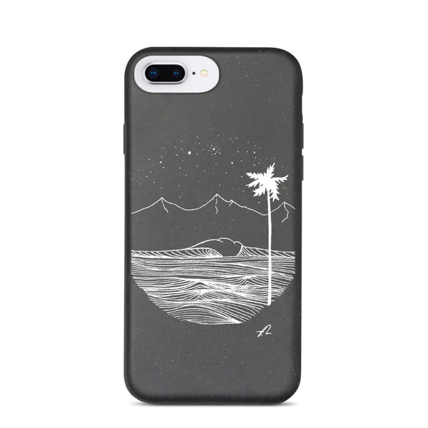 """Palm by night"" Biodegradable phone case"