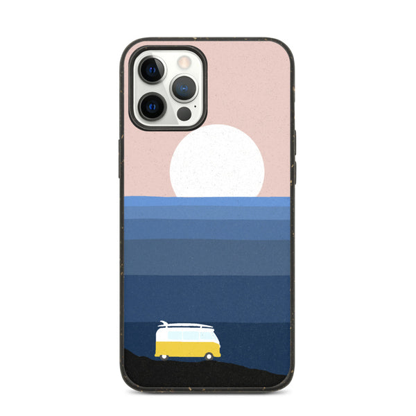 """Vanlife by the Sea"" Biodegradable Iphone case"