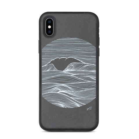 """The Wave"" Biodegradable phone case"