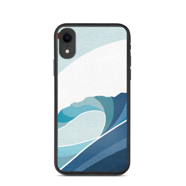 """Untitled Wave"" Biodegradable Iphone case"