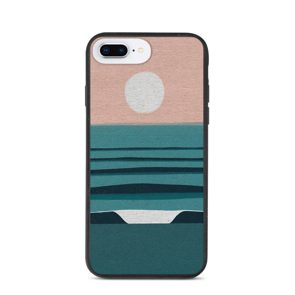 """Soft autumn light"" Biodegradable Iphone case"
