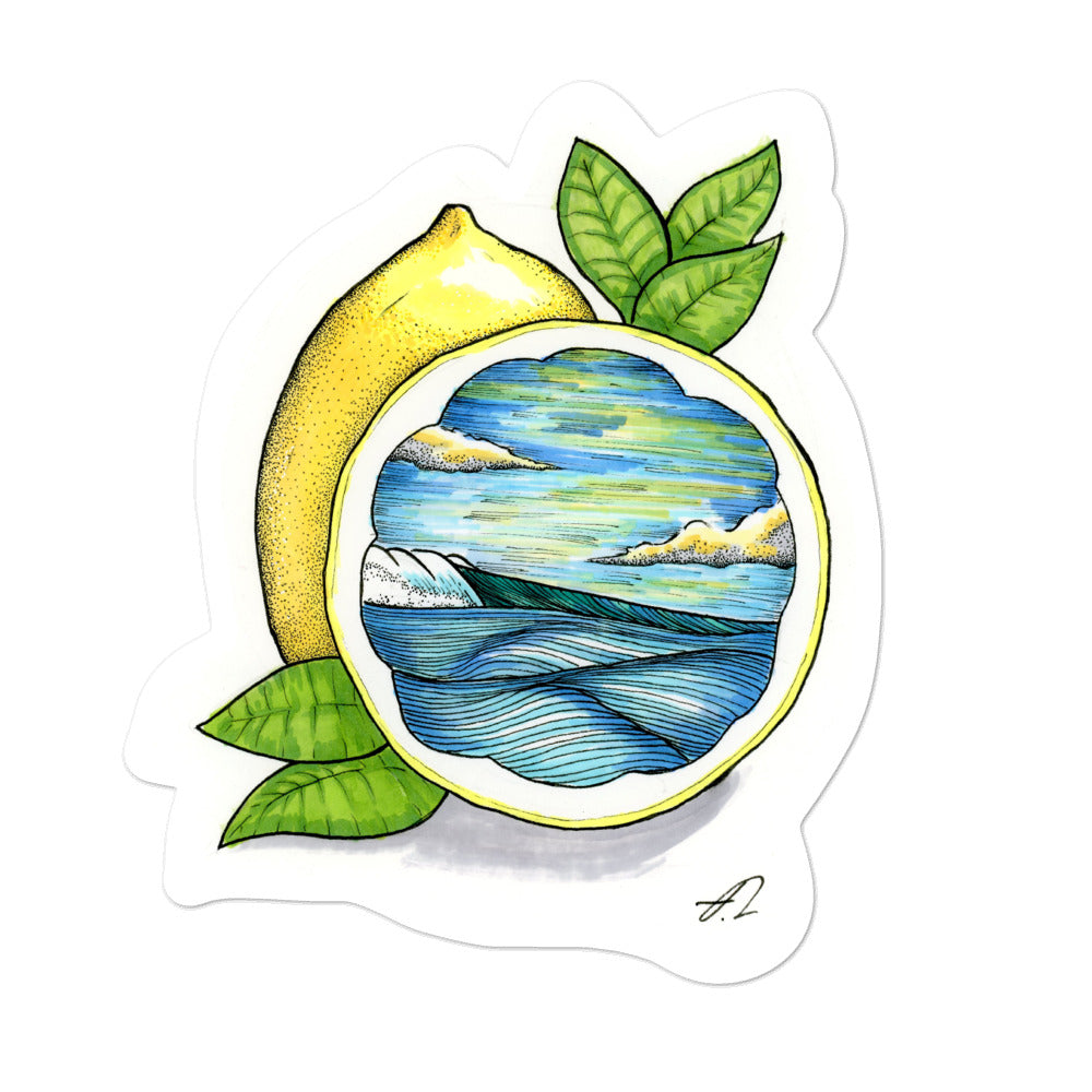 """Lemon Squeezy"" Sticker"