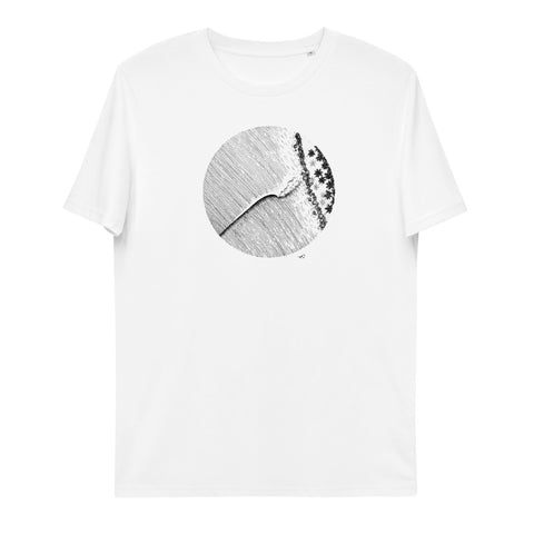 """Rollin In"" Unisex Organic Cotton T-Shirt"