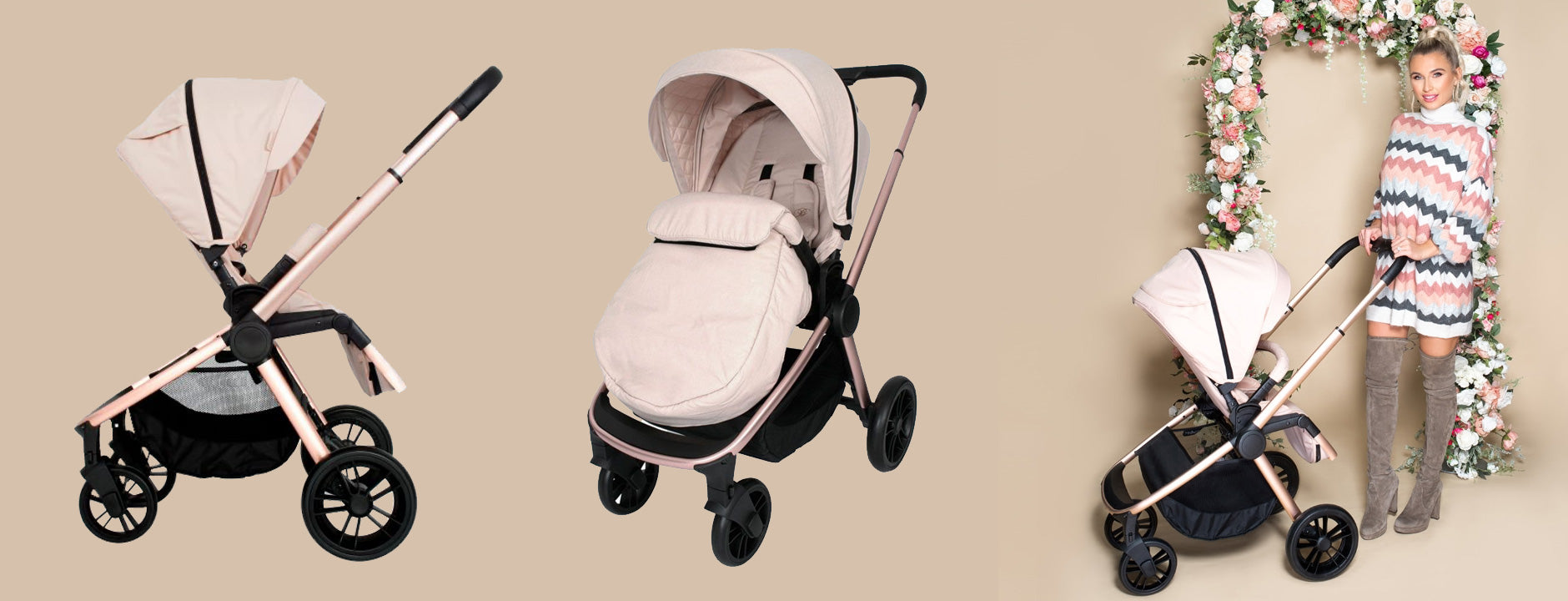 My Babiie MB400 Pushchair and Travel System