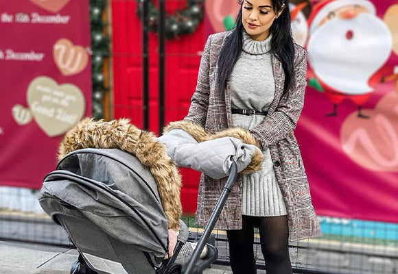 My Babiie Pushchair Fur Accessories